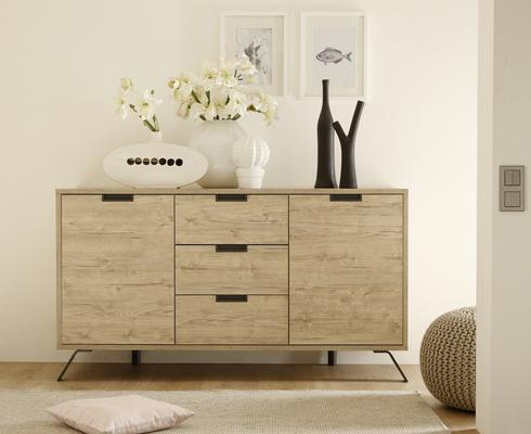 Palma Two Door and Three Drawer Sideboard