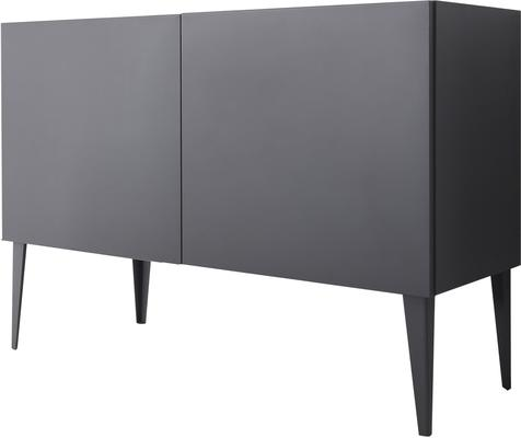 REX Two Door Sideboard - Matt Anthracite Lacquer finish