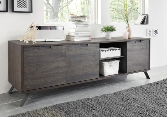 Palma Low Sideboard - Wenge