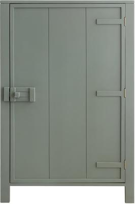 Mango Painted Wood Cabinet in Green, Grey or Taupe image 5