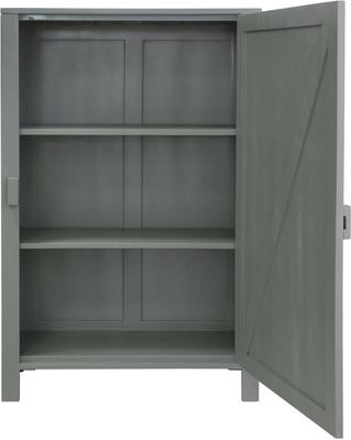 Mango Painted Wood Cabinet in Green, Grey or Taupe image 6