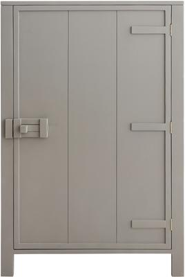Mango Painted Wood Cabinet in Green, Grey or Taupe image 7