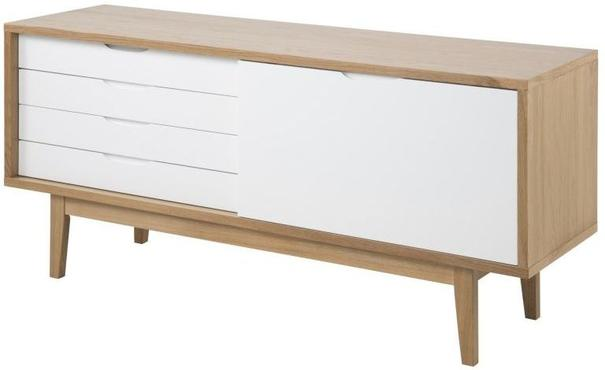 Calla 4 door 1 drawer sideboard image 2