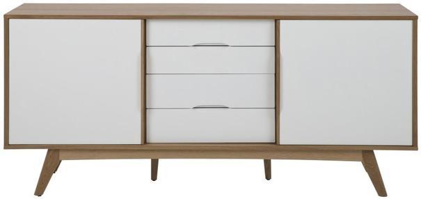 Marte (white) 2 door 4 drawer sideboard