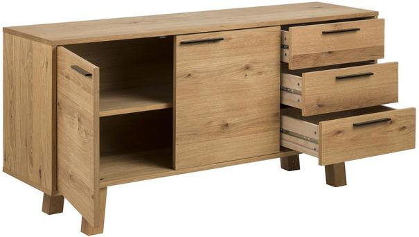Chira 2 door 3 drawer sideboard image 3
