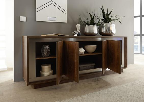 Luna Four Door Sideboard -  Cognac Finish image 2