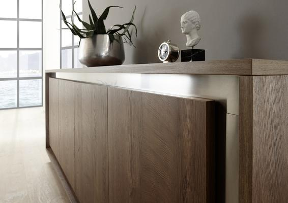 Luna Four Door Sideboard -  Cognac Finish image 4