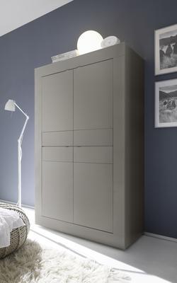 Urbino Collection Four Door High Sideboard - Matt Beige