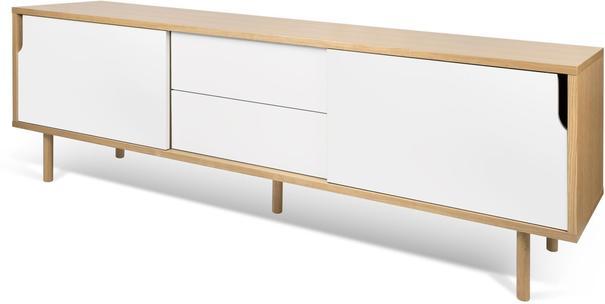 Dann 2 door 2 drawer sideboard image 3