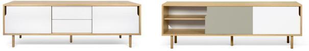 Dann 2 door 2 drawer sideboard image 13