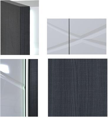 Elypse 3 door sideboard image 7