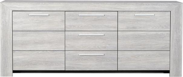 Lathi 3 door 1 drawer sideboard image 2