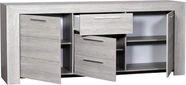 Lathi 3 door 1 drawer sideboard image 3