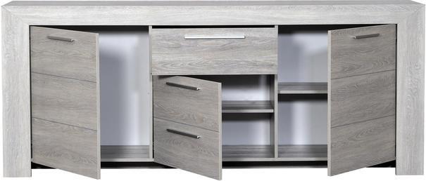 Lathi 3 door 1 drawer sideboard image 4