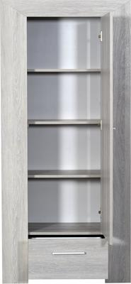 Lathi 1 door 1 drawer storage unit image 4