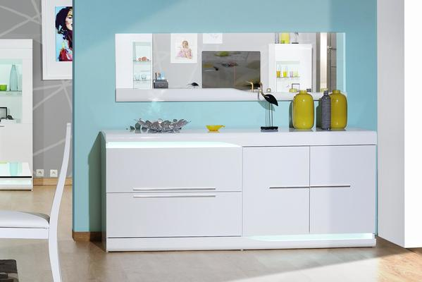 Ovio 2 door 2 drawer sideboard image 3