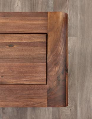 Shiro Walnut Shoe Cupboard image 5