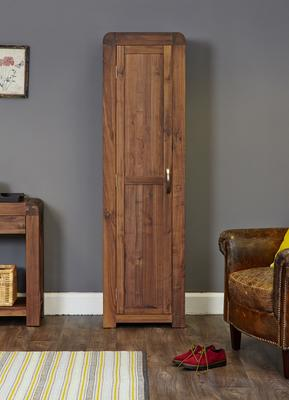 Shiro Walnut Tall Shoe Cupboard image 2