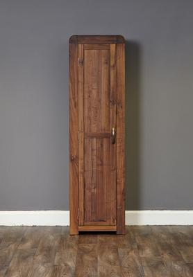 Shiro Walnut Tall Shoe Cupboard image 3