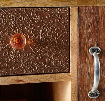 Sorio 3 door 3 drawer sideboard image 2