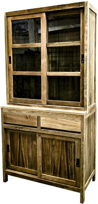 Reclaimed Wood Kitchen Display Cabinet