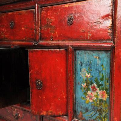 Double Sided Cabinet with Painted Panels image 3