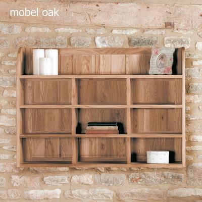 Mobel Oak Reversible Wall Rack image 2