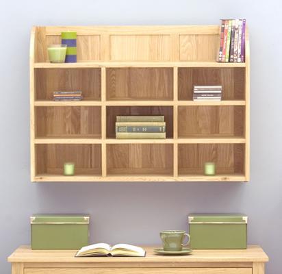 Mobel Oak Reversible Wall Rack image 3