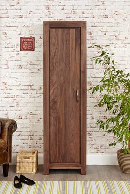 Mayan Walnut Tall Shoe Cupboard Rustic image 3