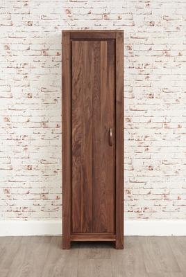 Mayan Walnut Tall Shoe Cupboard Rustic image 5