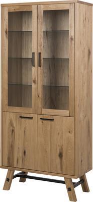Stockhelm (Wild Oak) display cabinet image 2