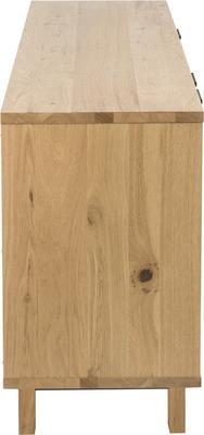 Stockhelm (Wild Oak) 2 door 3 drawer sideboard image 4
