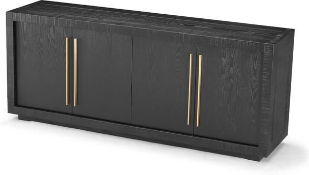 Kent Wenge Oak Sideboard Brass Handles image 2