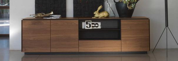 Lauren 4 door 2 drawer sideboard image 2