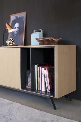 Modus (open) 2 door 2 drawer sideboard image 2