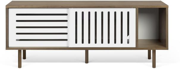Dann (stripes) 2 door sideboard image 2