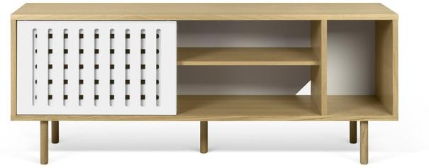 Dann (stripes) 2 door sideboard image 3