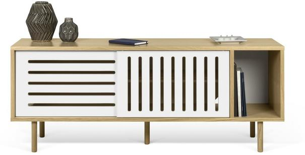Dann (stripes) 2 door sideboard image 5