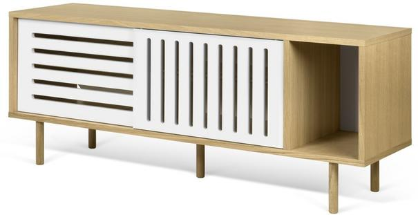 Dann (stripes) 2 door sideboard image 7
