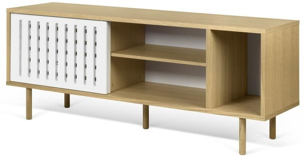 Dann (stripes) 2 door sideboard image 9