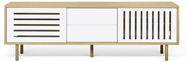 Dann (stripes) 2 door 2 drawer sideboard