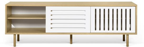 Dann (stripes) 2 door 2 drawer sideboard image 3