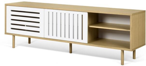 Dann (stripes) 2 door 2 drawer sideboard image 7