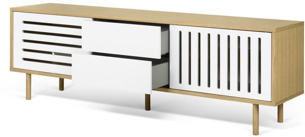 Dann (stripes) 2 door 2 drawer sideboard image 8