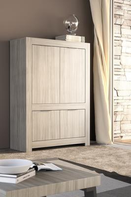 Forli High Sideboard - Caracalla Oak Finish
