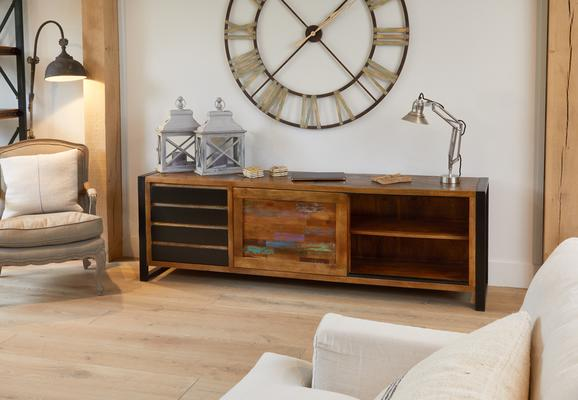 Urban Chic Reclaimed Ultra Large Sideboard 4 Drawers image 3