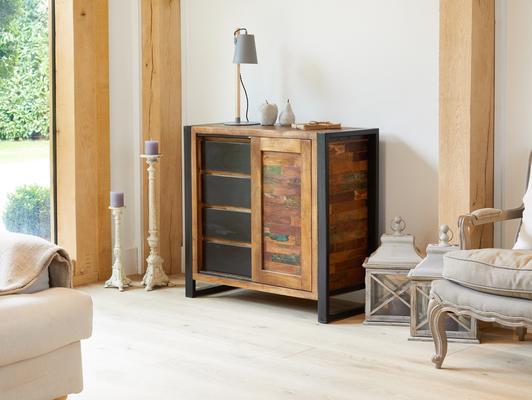 Urban Chic Reclaimed Home Storage Cupboard