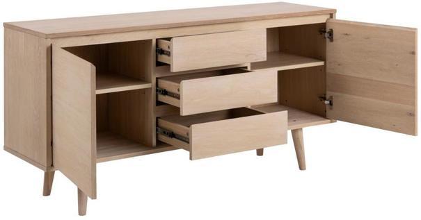 Nagane 2 door 3 drawer sideboard image 3