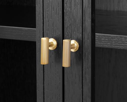 York Wenge Oak Cabinet Glass Doors image 6