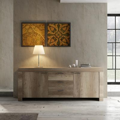 Livorno Two Door Three Drawer Sideboard - San Remo Oak Finish image 2